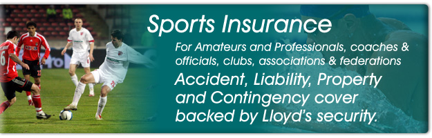 SPORTSCOVER - The Sports Insurance Specialists